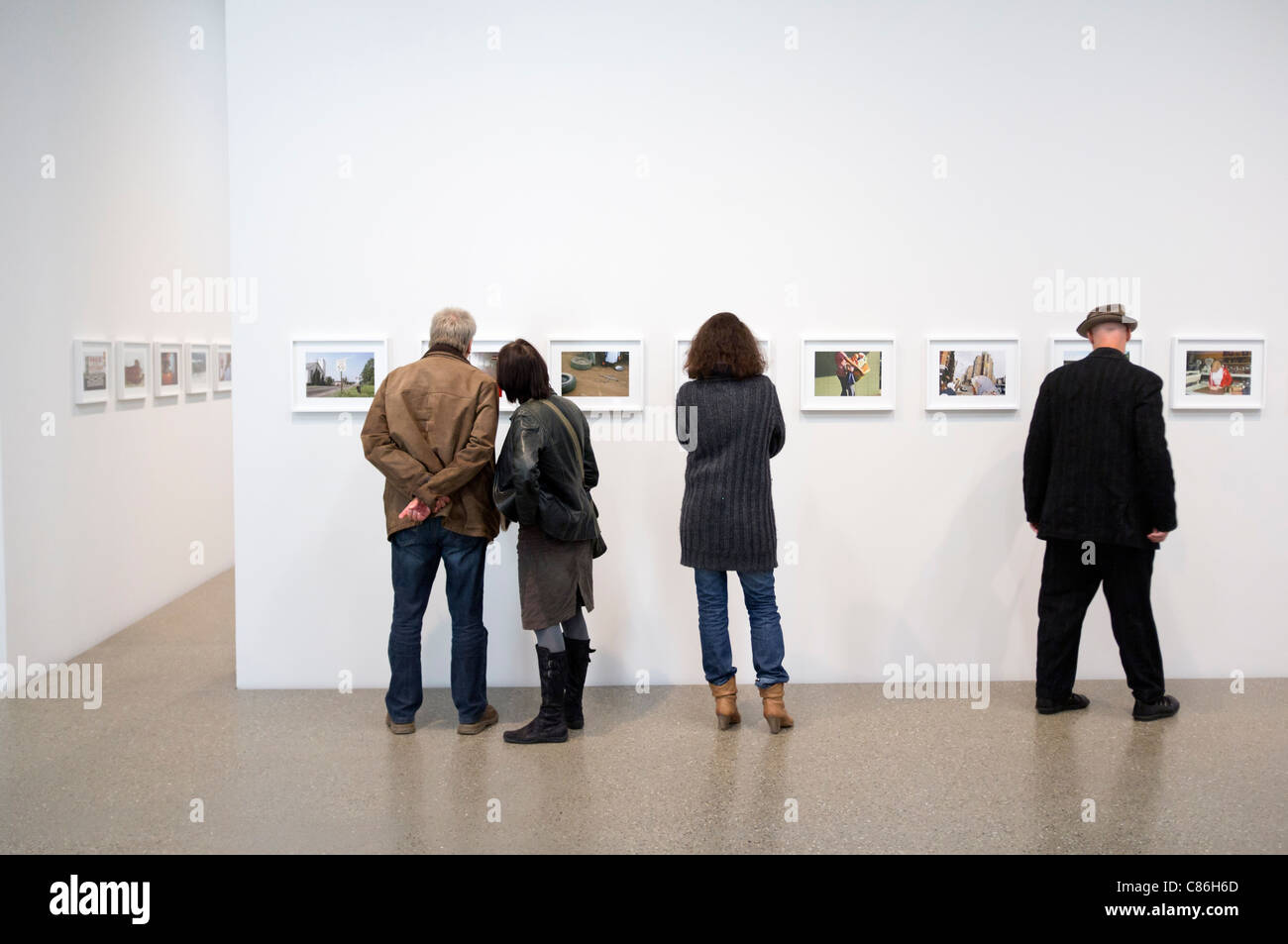Exhibition of photography by Joel Sternfeld at Folkwang Museum in Essen Germany - Stock Image