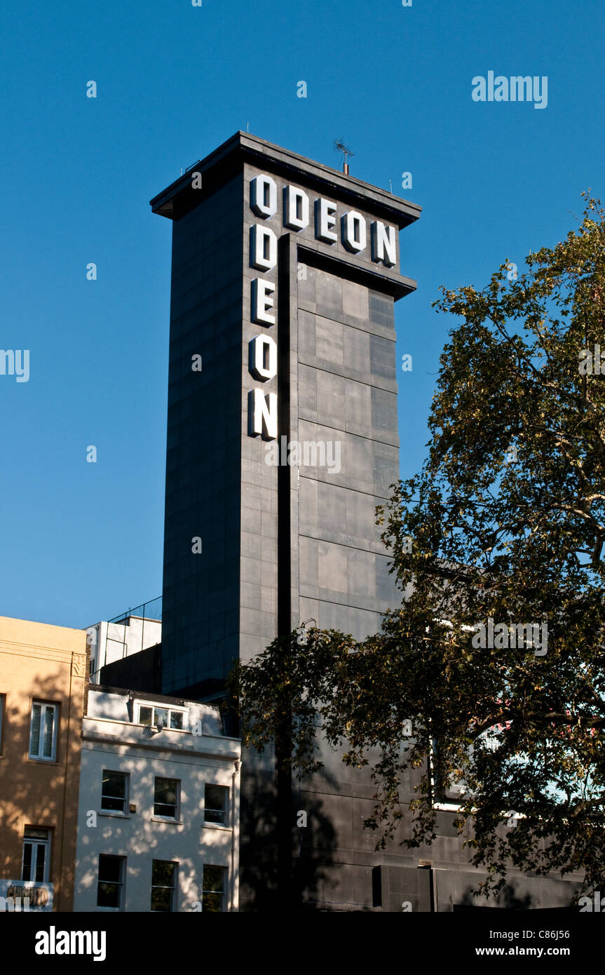 Odeon cinema on Leicester Square, London, United Kingdom - Stock Image