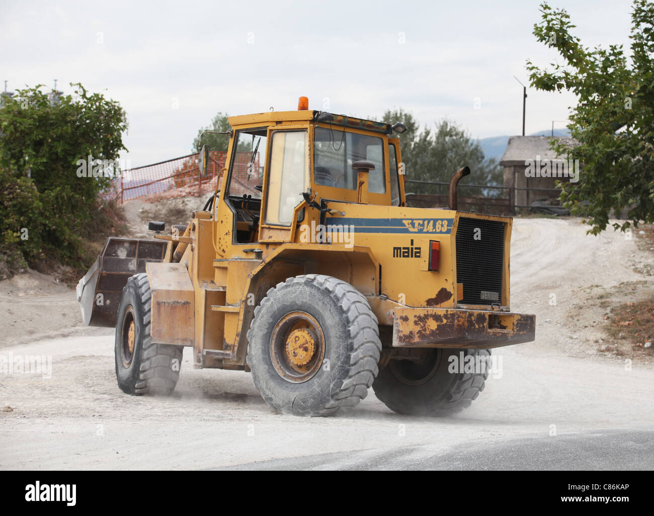 hgv tractor - Stock Image