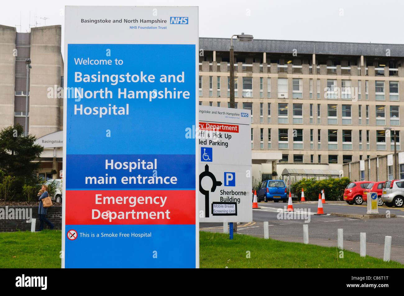 Basingstoke and North Hampshire Hospital Stock Photo