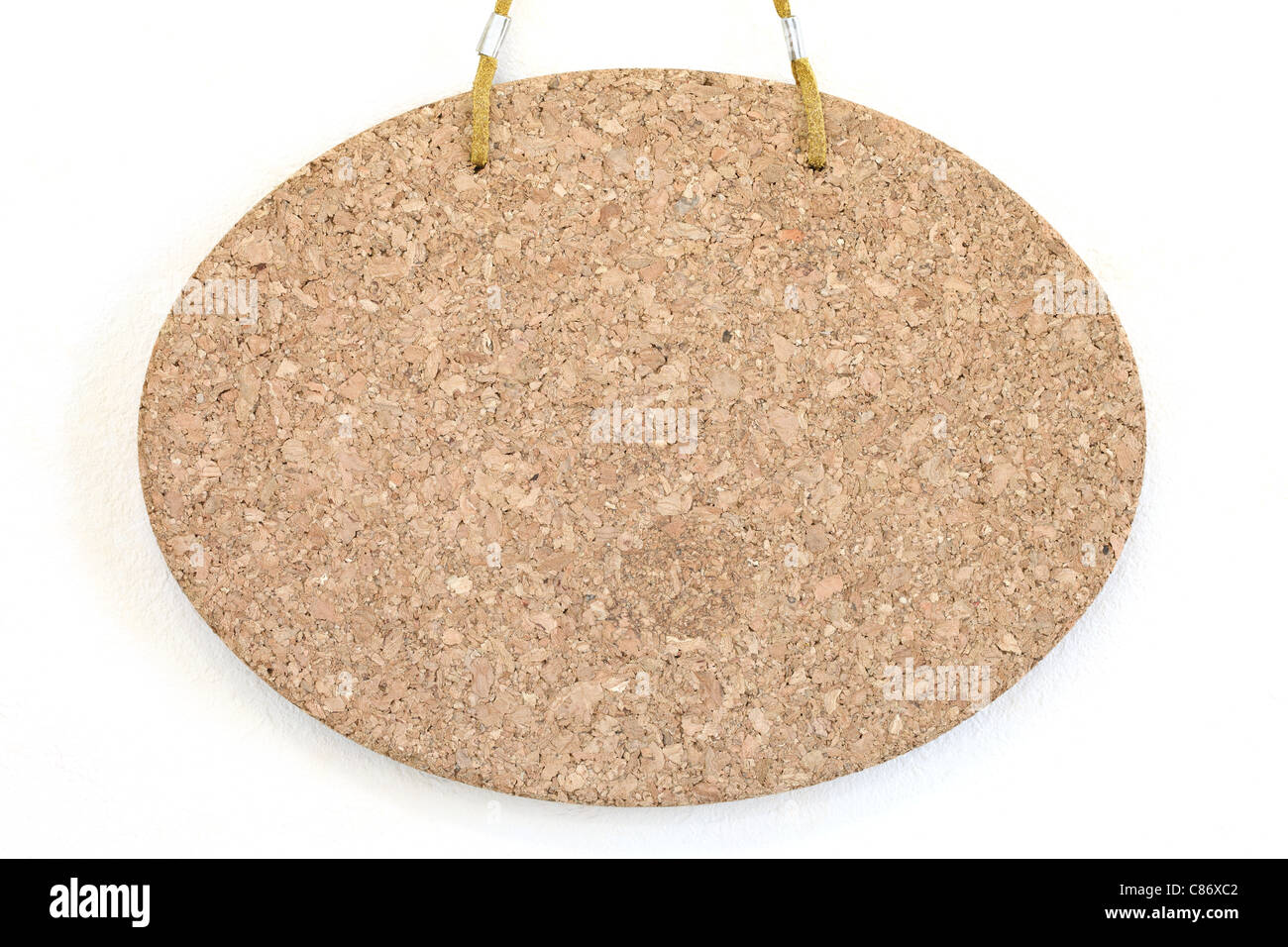 Blank Cork Board Hang On The Wall Background Stock Photo 39490418