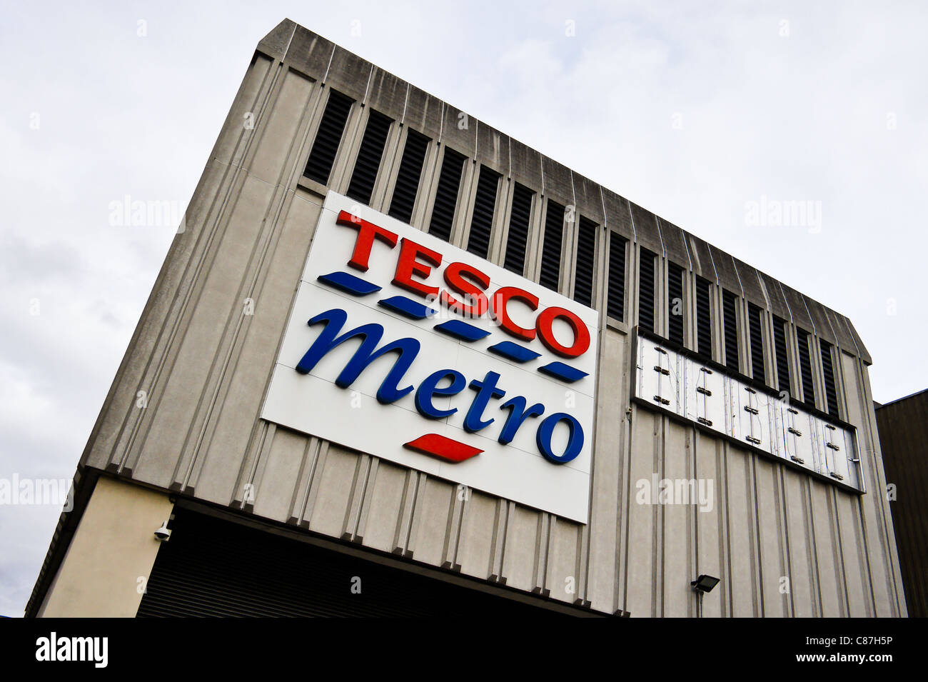 Tesco metro in Harlow, Essex - Stock Image