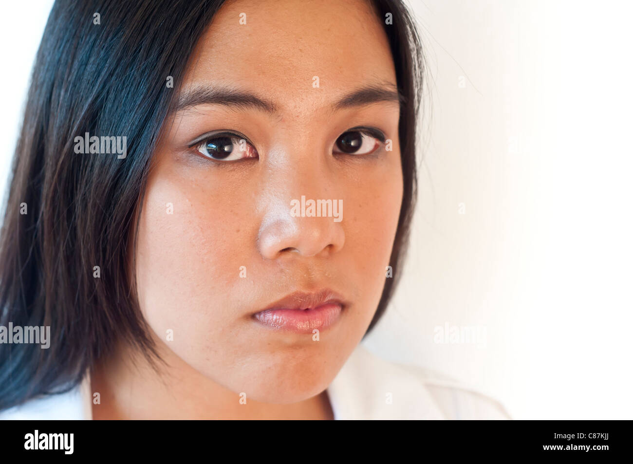 Asian woman portrait-No negative usage allowed Stock Photo