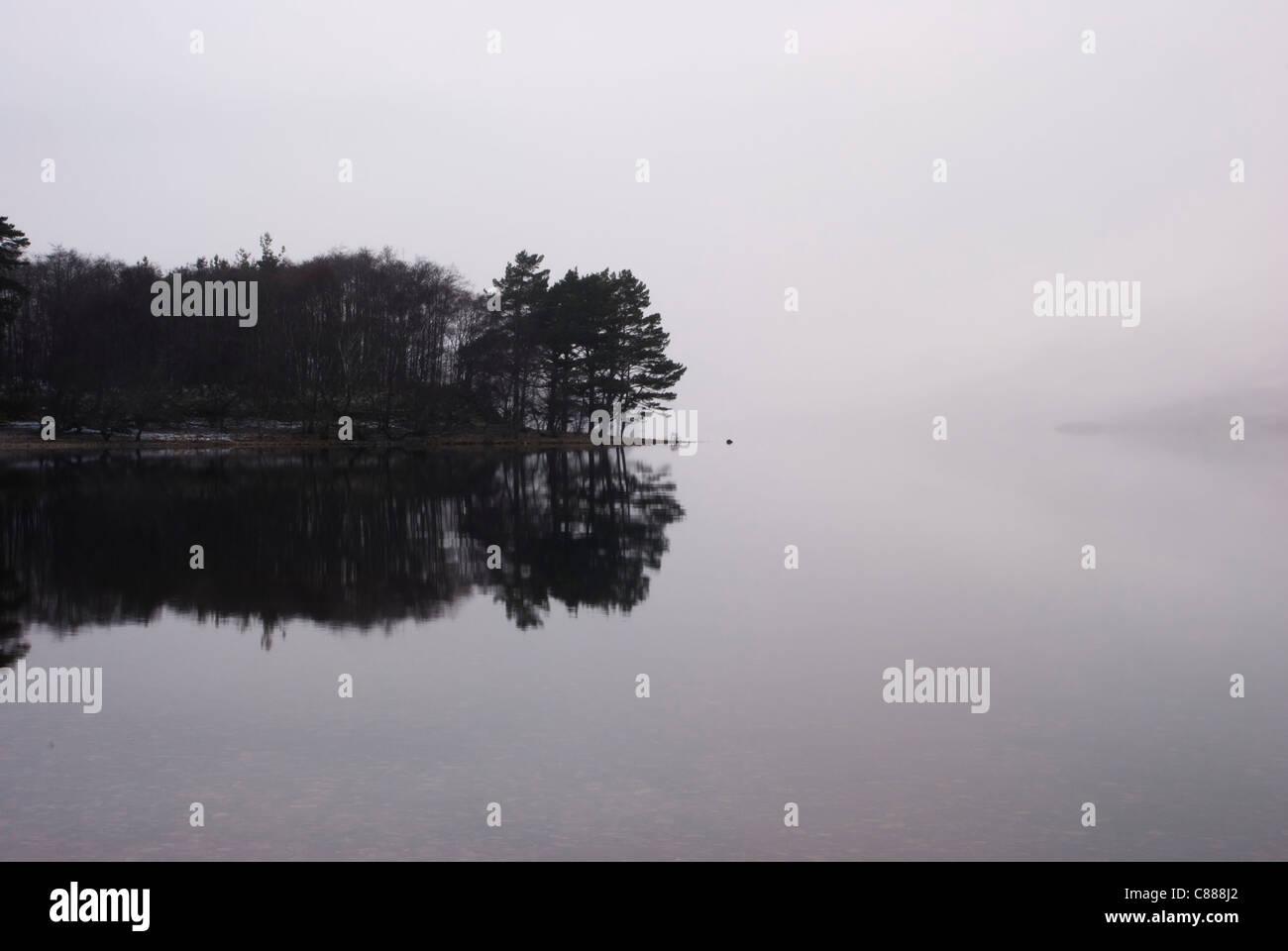 Loch Maree, Scotland - Stock Image