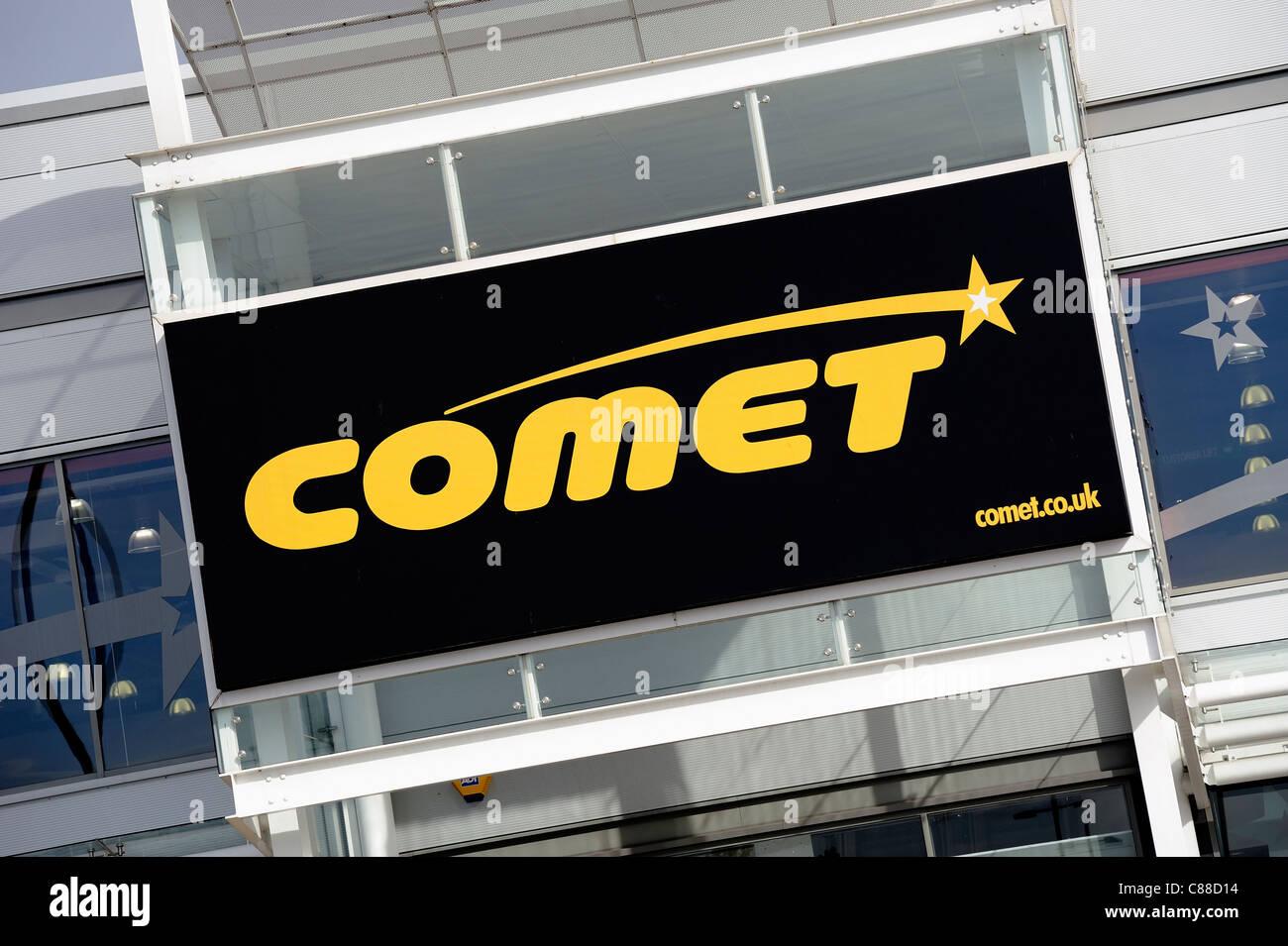 comet electrical retailer kesa england uk - Stock Image