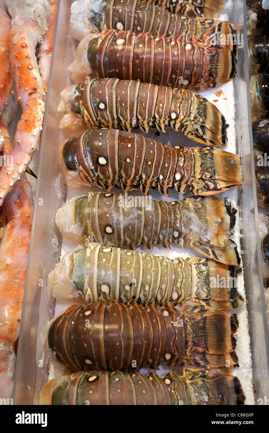 Lobster Tails - Stock Image