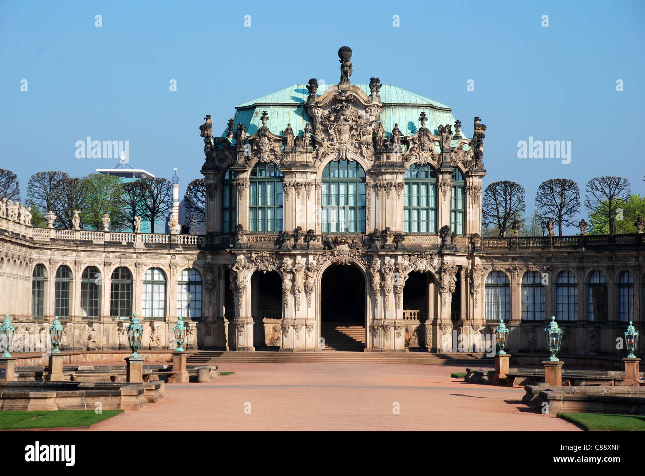 Zwinger in Dresden - Stock Image