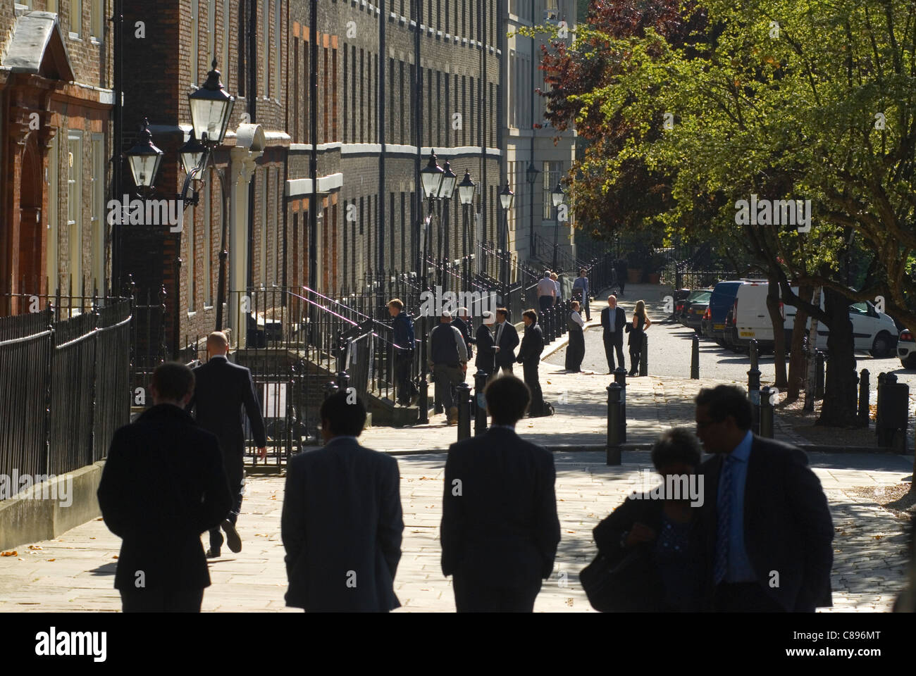 Kings Bench Walk Inner Temple. Inns of Court. Solicitors Chambers buildings. London UK HOMER SYKES - Stock Image