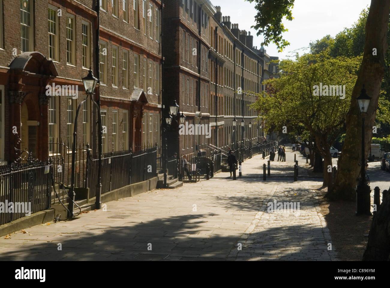 Kings King's Bench Walk. Inner Temple. Inns of Court, London UK HOMER SYKES - Stock Image