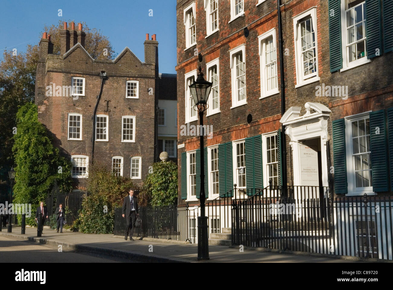 Lincolns  Inn New Square inns of Court London UK HOMER SYKES - Stock Image