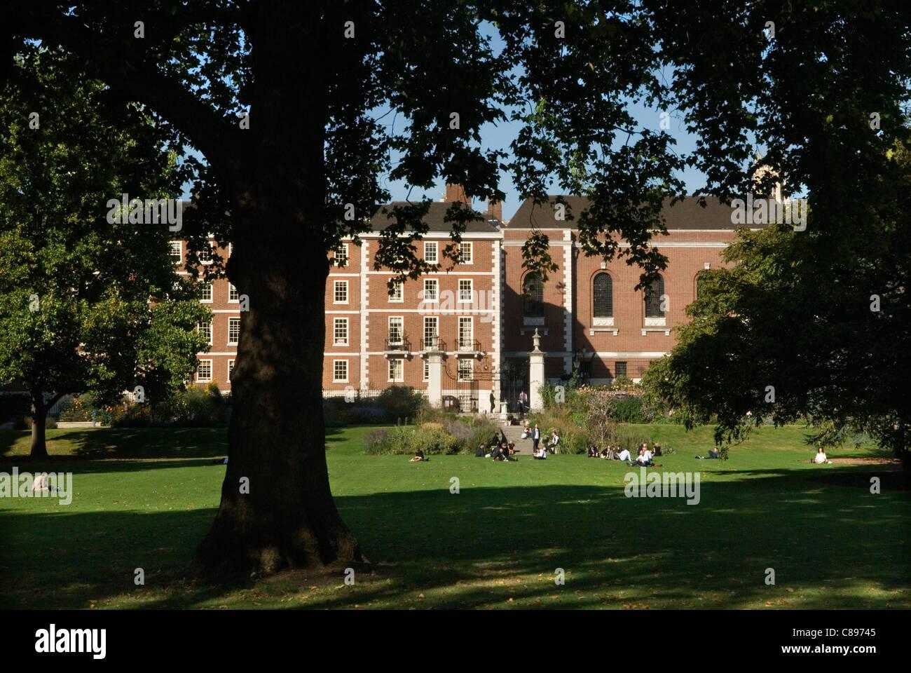 Inner Temple Gardens. Inns of Court London Uk  HOMER SYKES - Stock Image