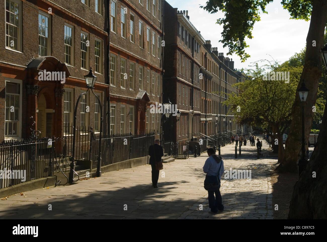 Kings King's Bench Walk. Inner Temple. Inns of Court London UK HOMER SYKES - Stock Image