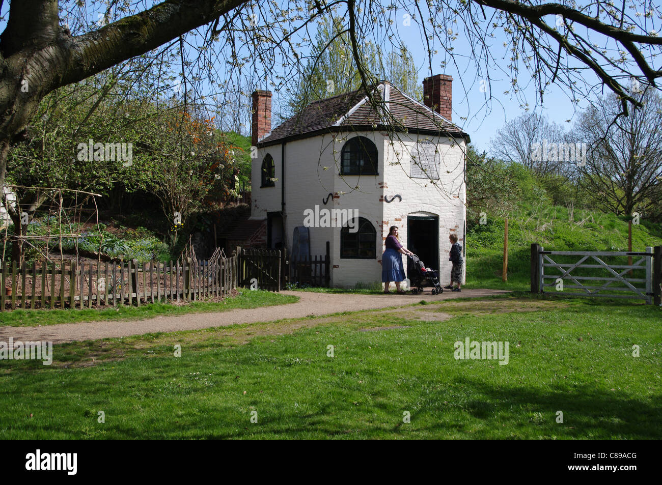 Toll House, Avoncroft Museum of Buildings, Bromsgrove, Worcestershire - Stock Image