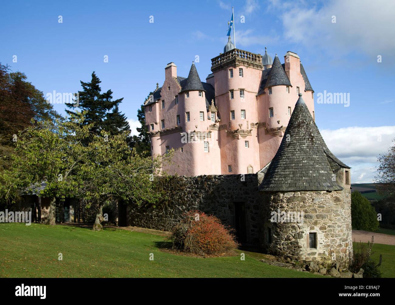 Craigievar Castle, Scotland - Stock Image