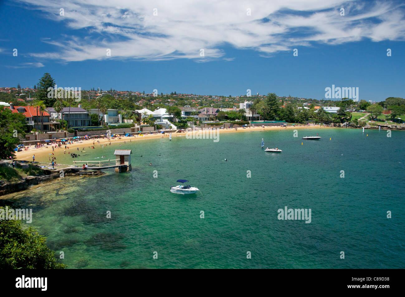 Camp Cove Sydney Harbour Australia - Stock Image