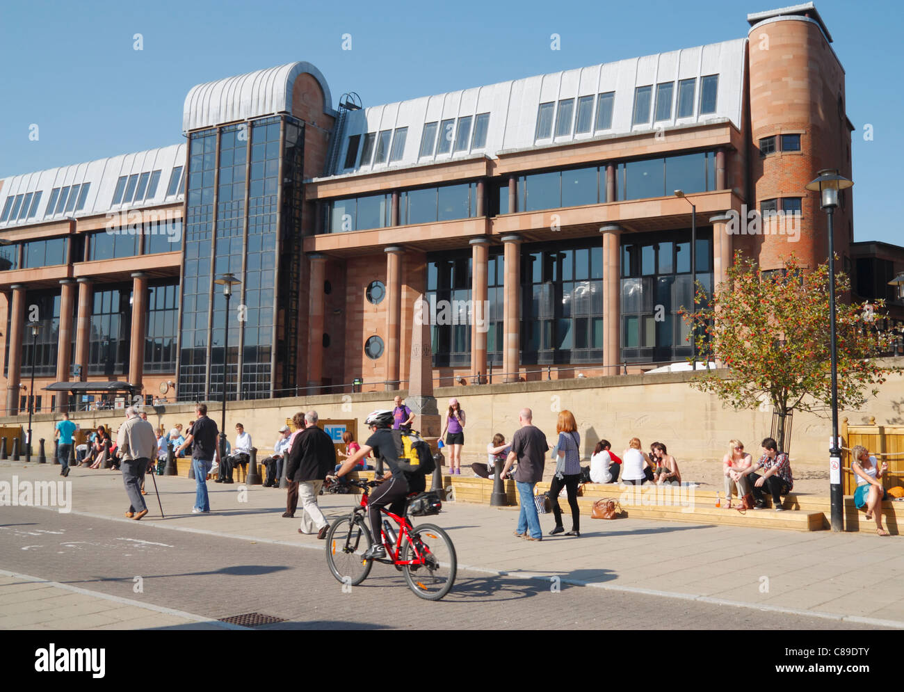 Combined Law courts (Crown court) building, Newcastle upon Tyne, England, UK - Stock Image