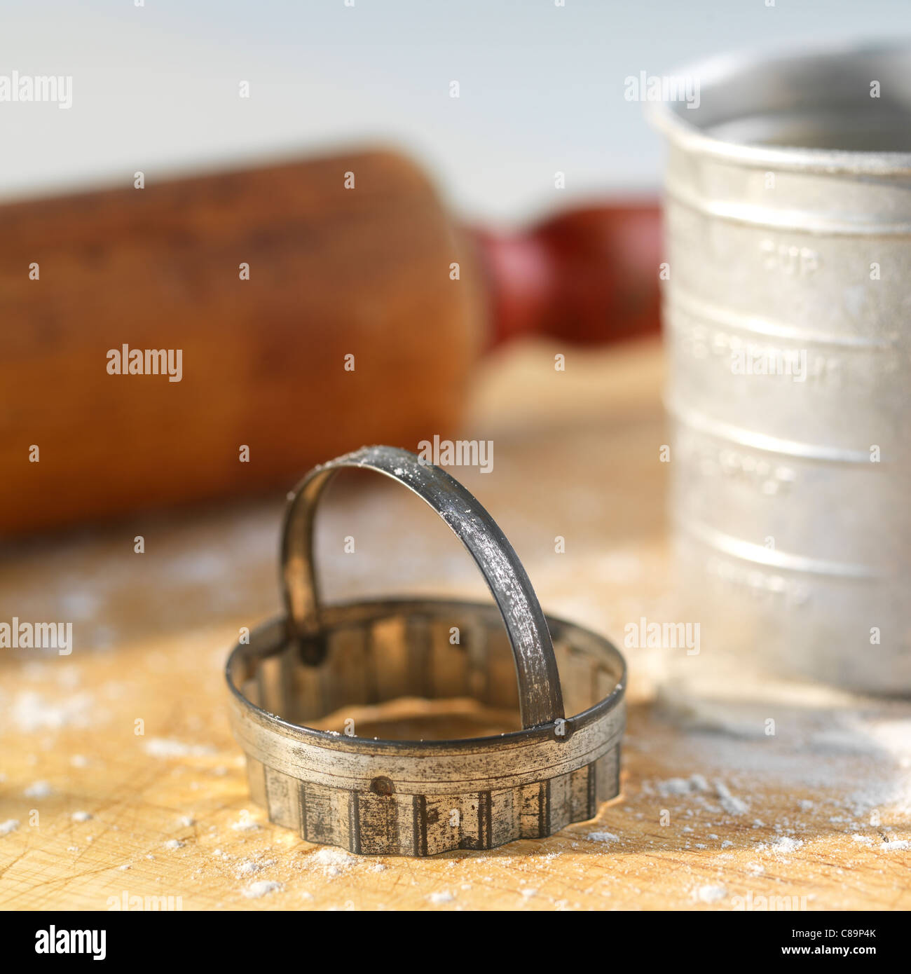 Cookie cutter - Stock Image