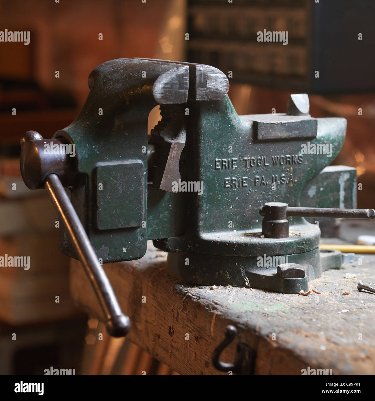 Vice or Vise - Stock Image
