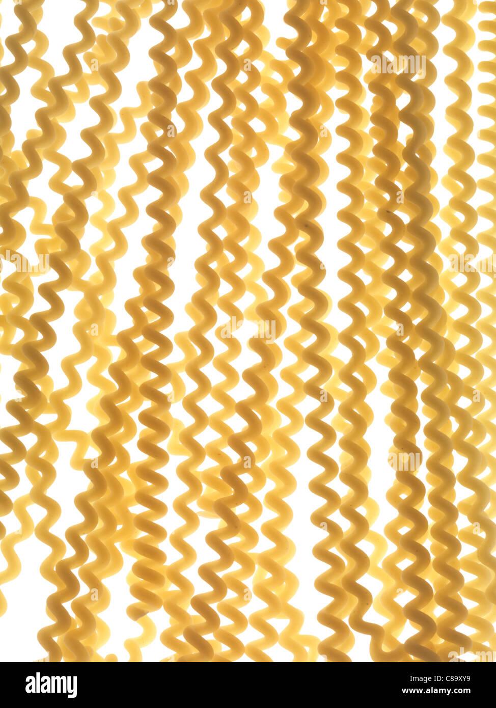 Fusilli bucati pasta - Stock Image