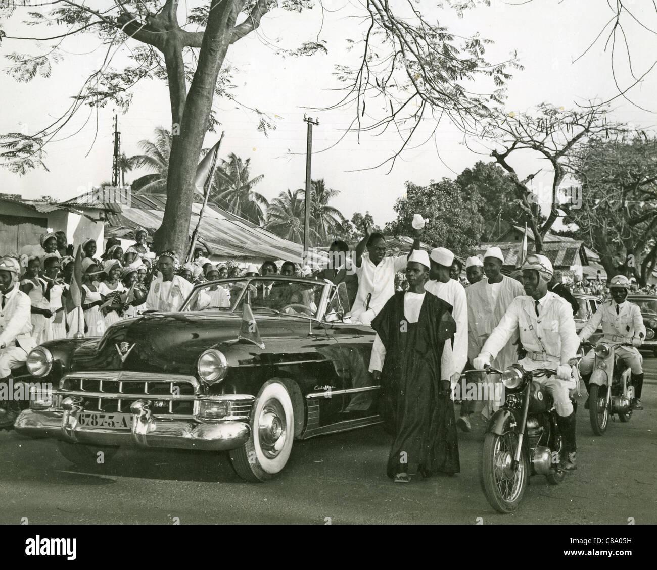 KWAME NKRUMAH (1909-1972) Ghanian political leader - Stock Image