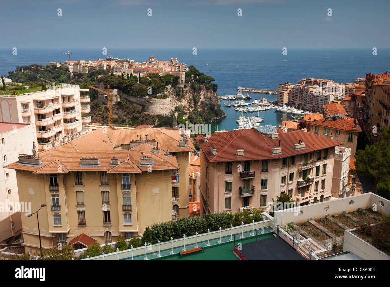 Monaco: La Colle: General View - Stock Image