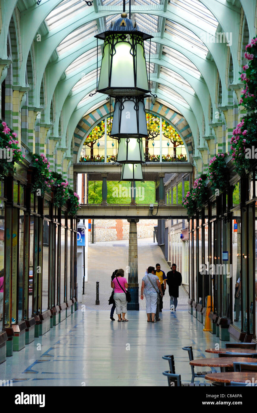 Norwich Royal Arcade Shopping Mall - Stock Image