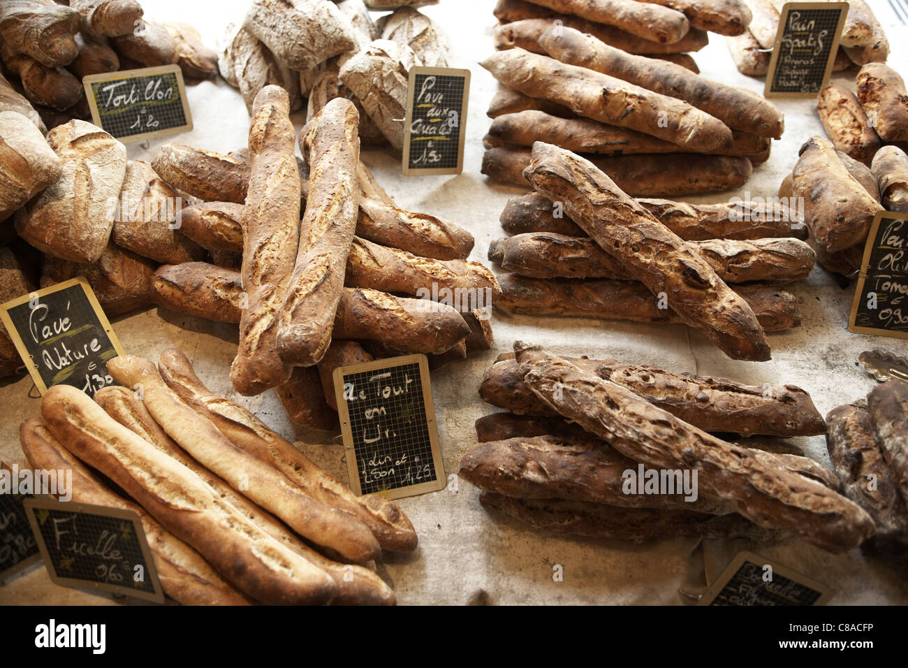 Selection of breads - Stock Image