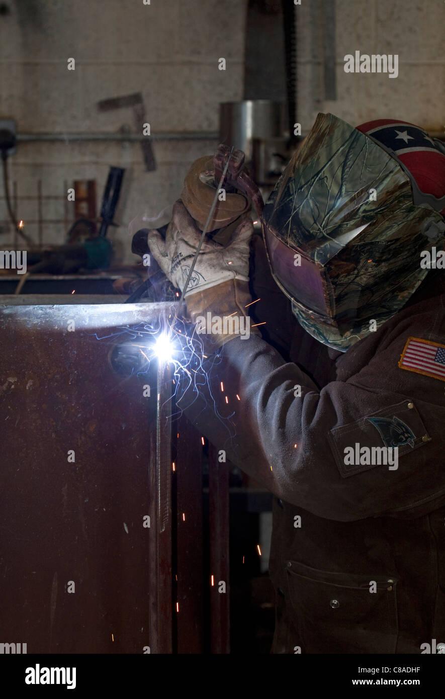 arc welder - Stock Image