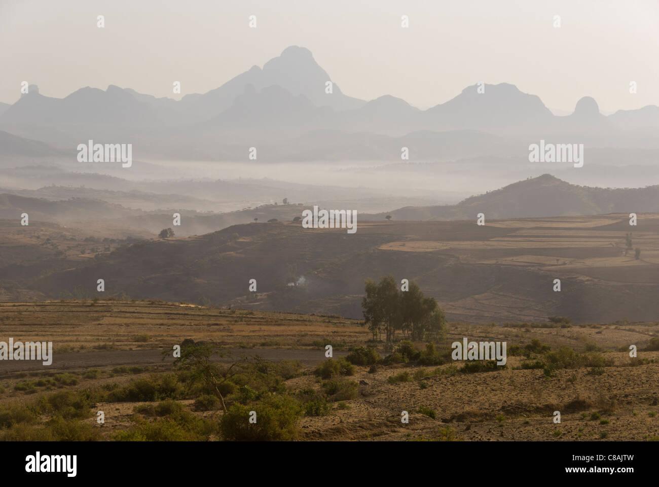 Elk200-2837 Ethiopia, Adwa, landscape. - Stock Image