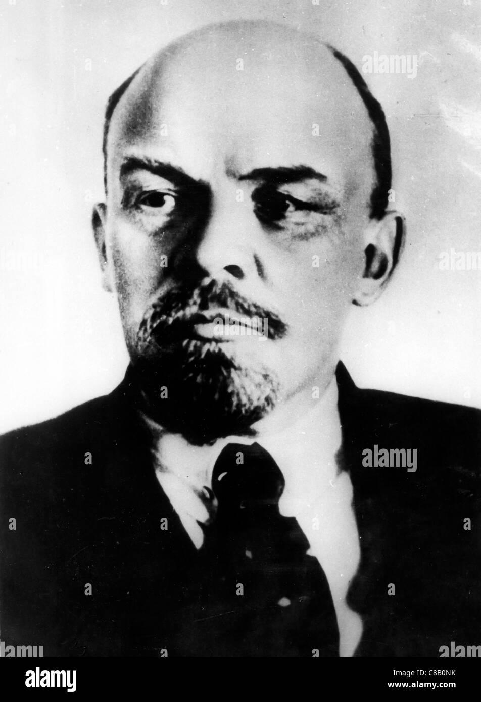 Vladimir Ilyich Ulyanov ' Lenin' - Stock Image