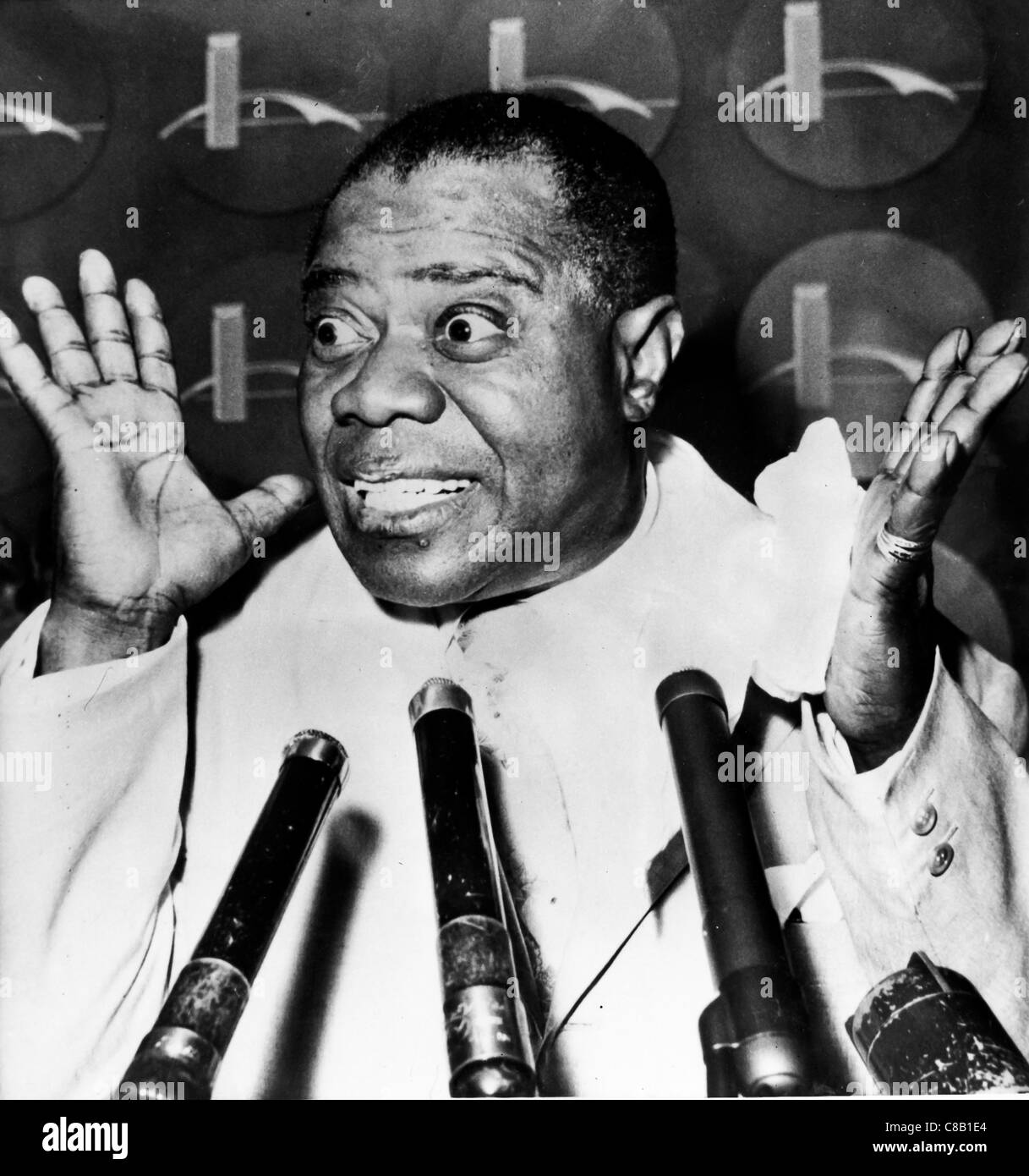 louis armstrong,60' - Stock Image