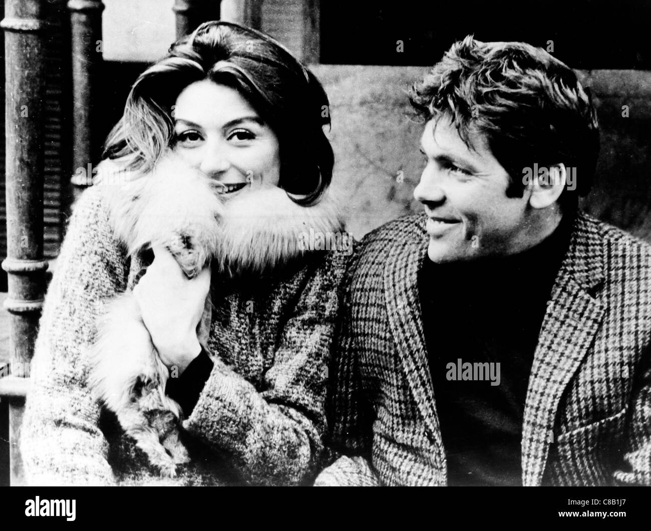 A Man and a Woman,Anouk Aimée,Pierre Barouh,1966 - Stock Image