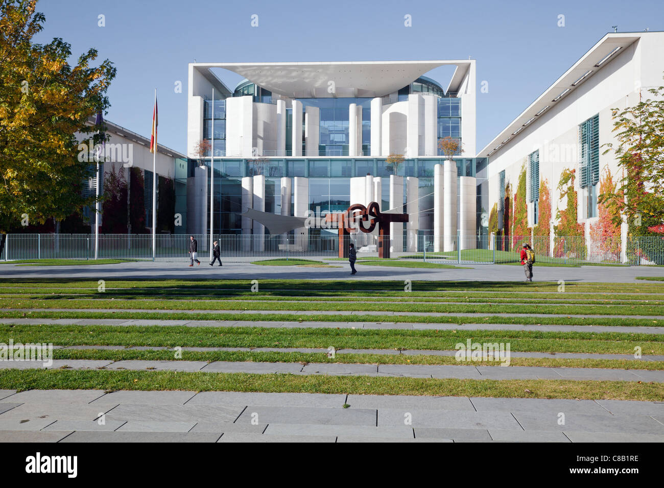 Bundeskanzleramt, Berlin, Germany Stock Photo