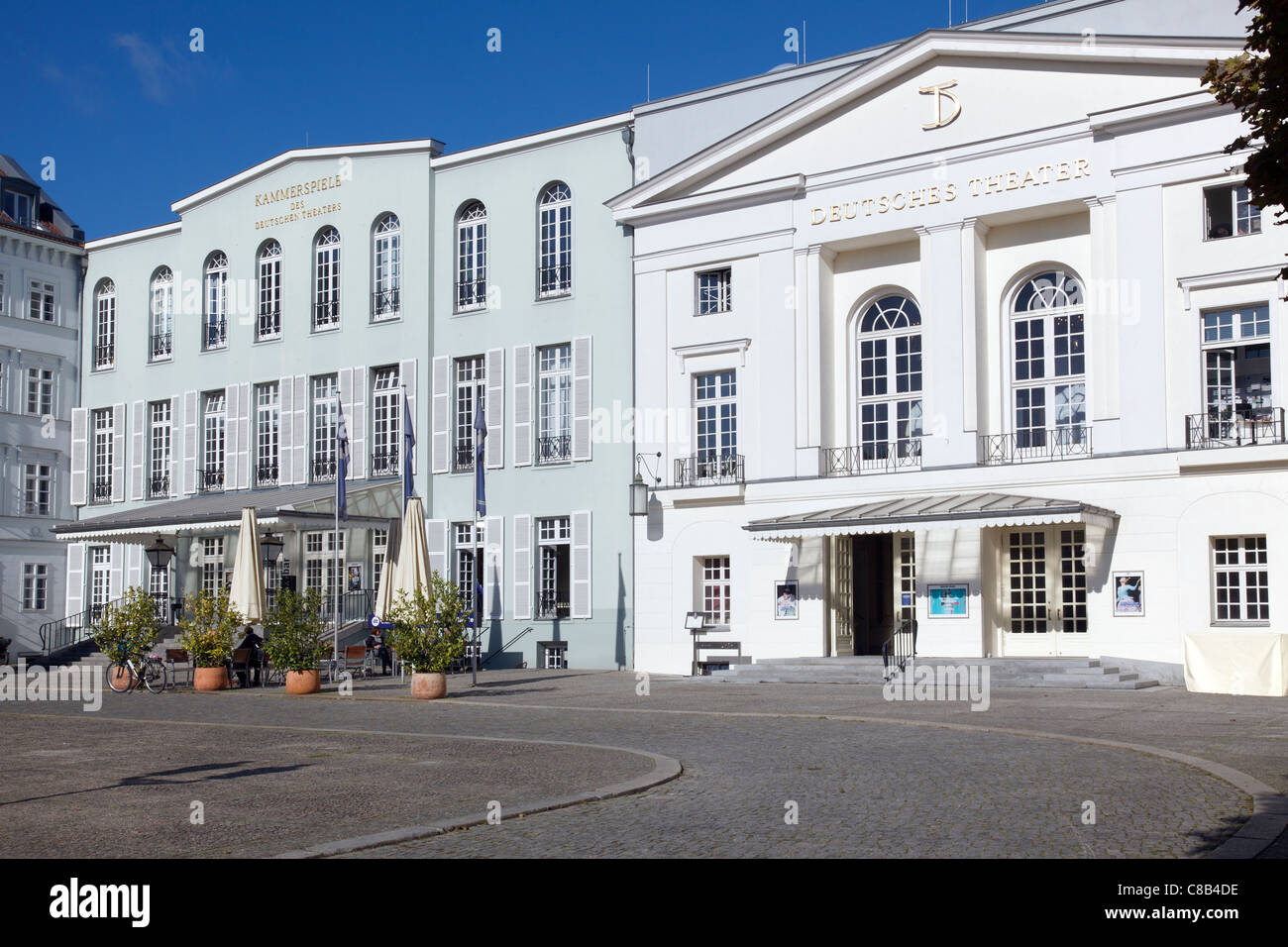 Deutsches Theater and Kammerspiele, Berlin, Germany - Stock Image