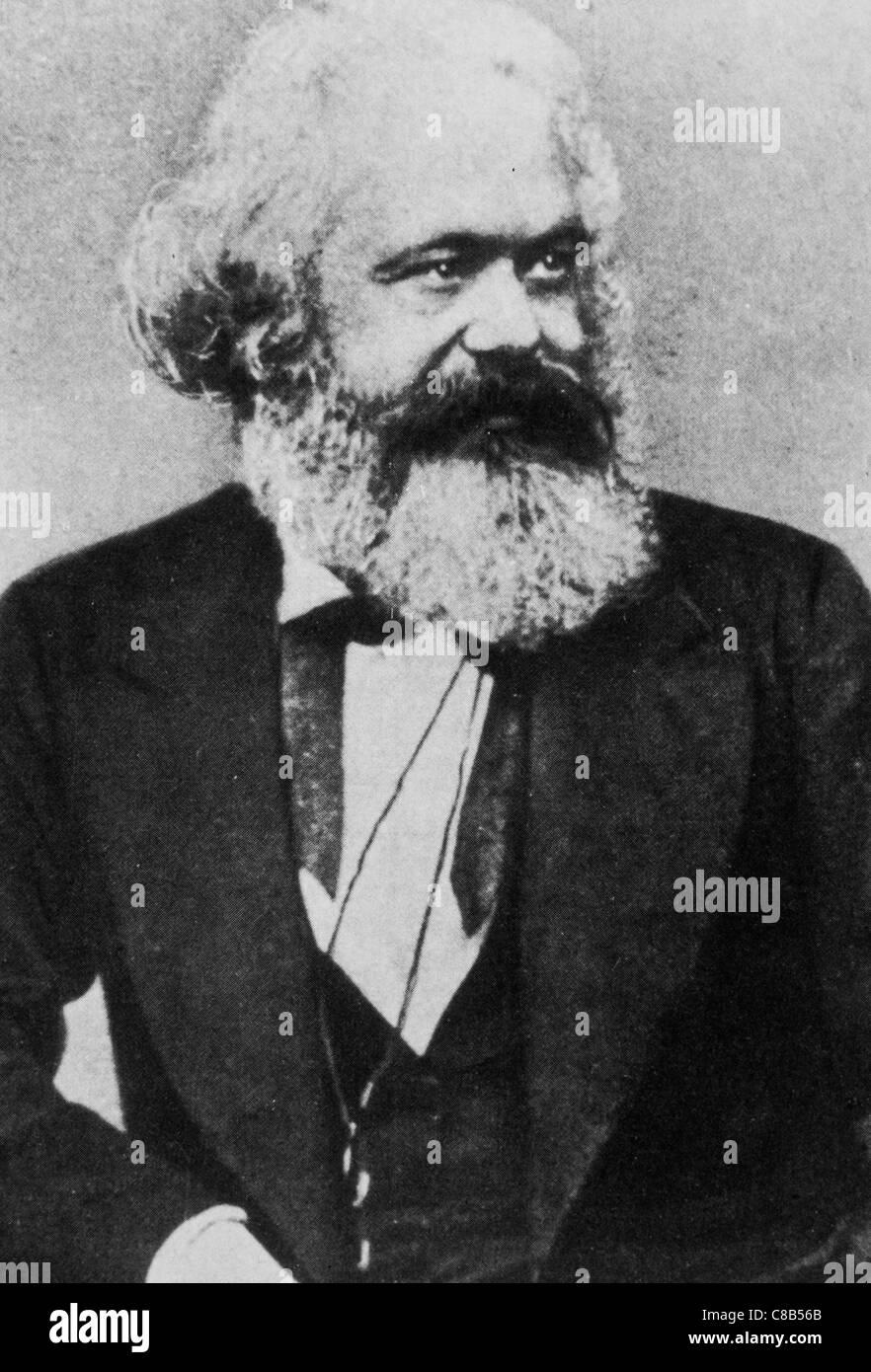 Karl Heinrich Marx - Stock Image