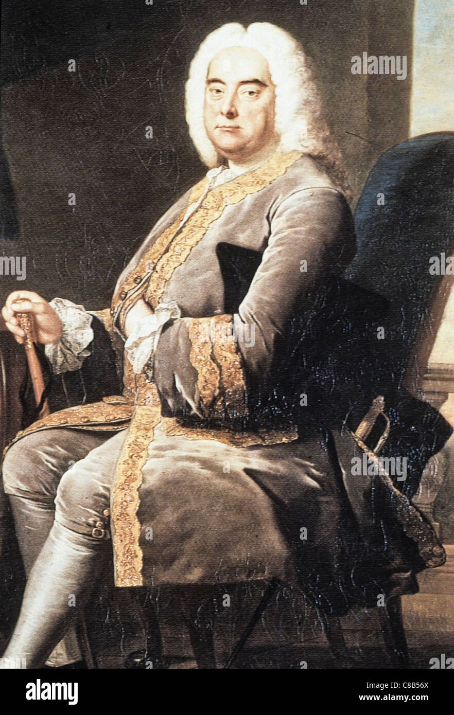 Georg Friedrich Handel - Stock Image