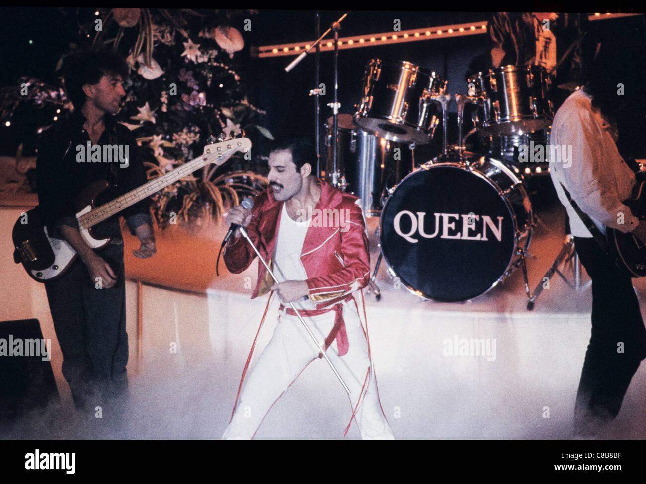 queen,Freddie Mercury - Stock Image