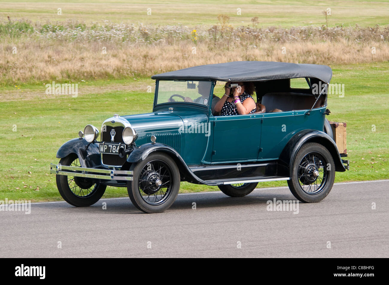 ford 1927 ford model a phaeton stock photo 39593220 alamy. Black Bedroom Furniture Sets. Home Design Ideas