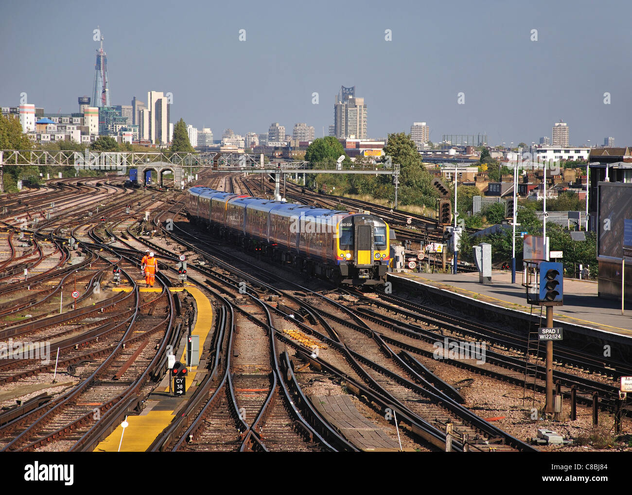 Clapham junction station