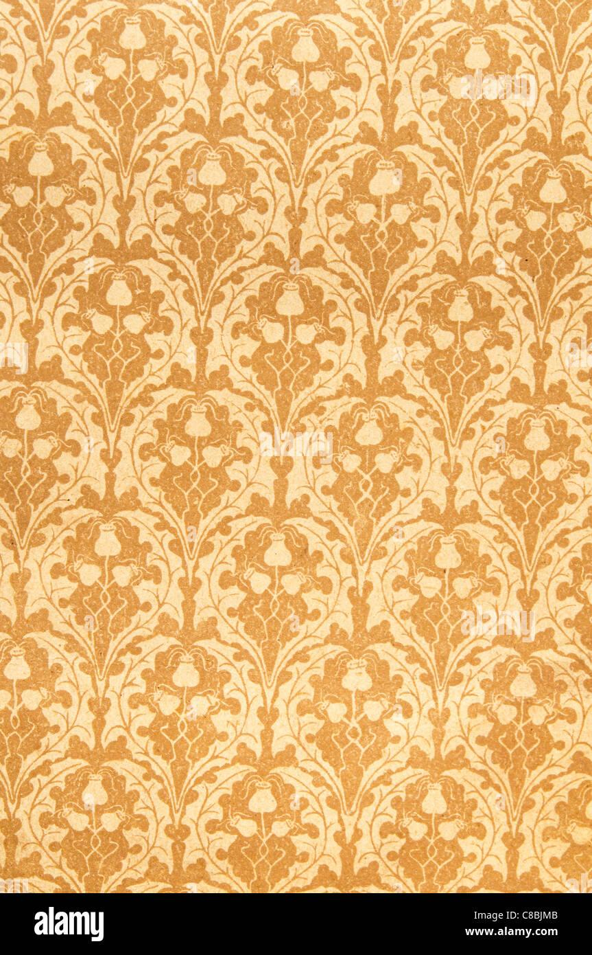 vintage wallpaper background - Stock Image