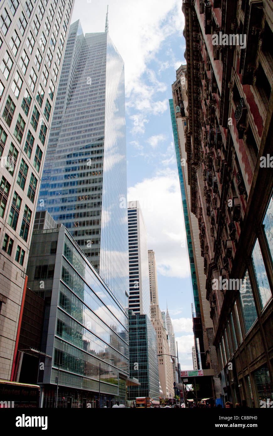 Street in New York City. - Stock Image