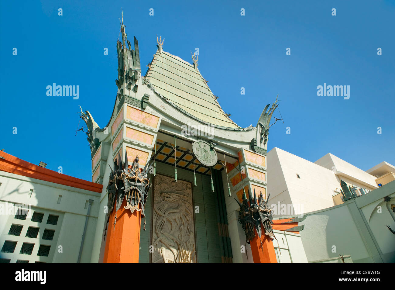 Grauman's Chinese Theater Hollywood - Stock Image