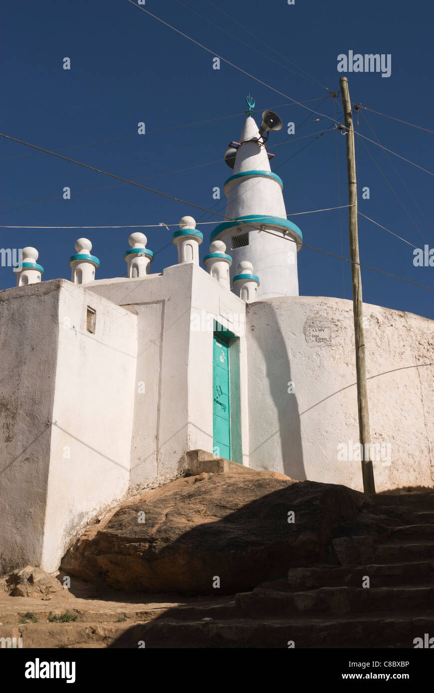 Elk200-4074v Ethiopia, Harar, mosque - Stock Image