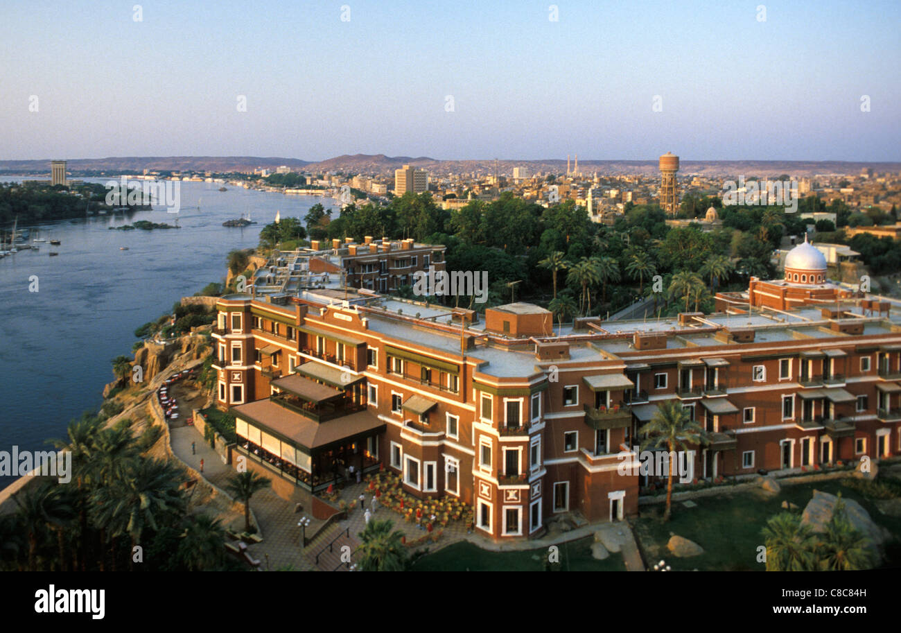 Old Cataract Hotel Aswan Egypt Where Agatha Christie Wrote Death
