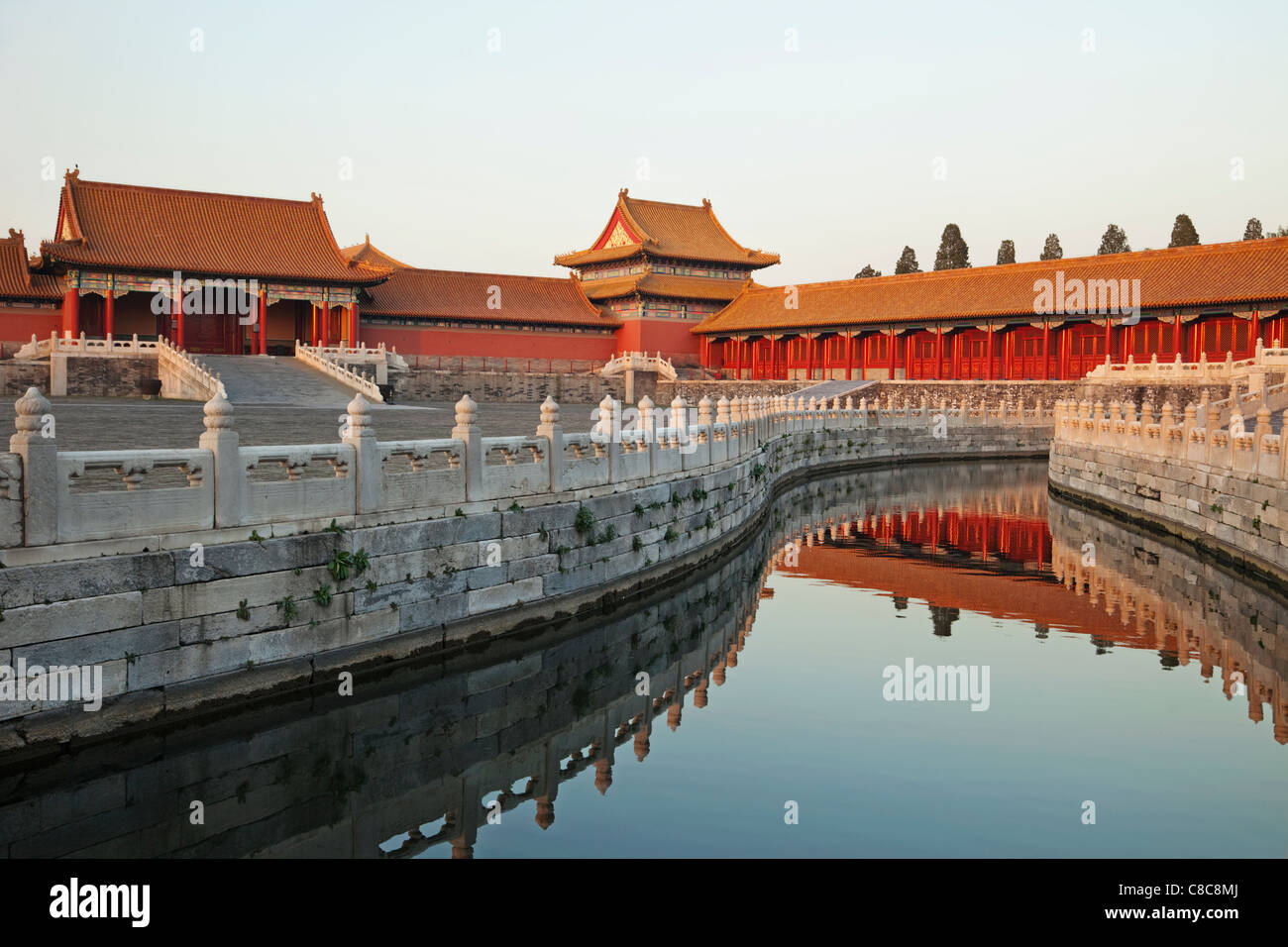 China, Beijing, Palace Museum or Forbidden City - Stock Image