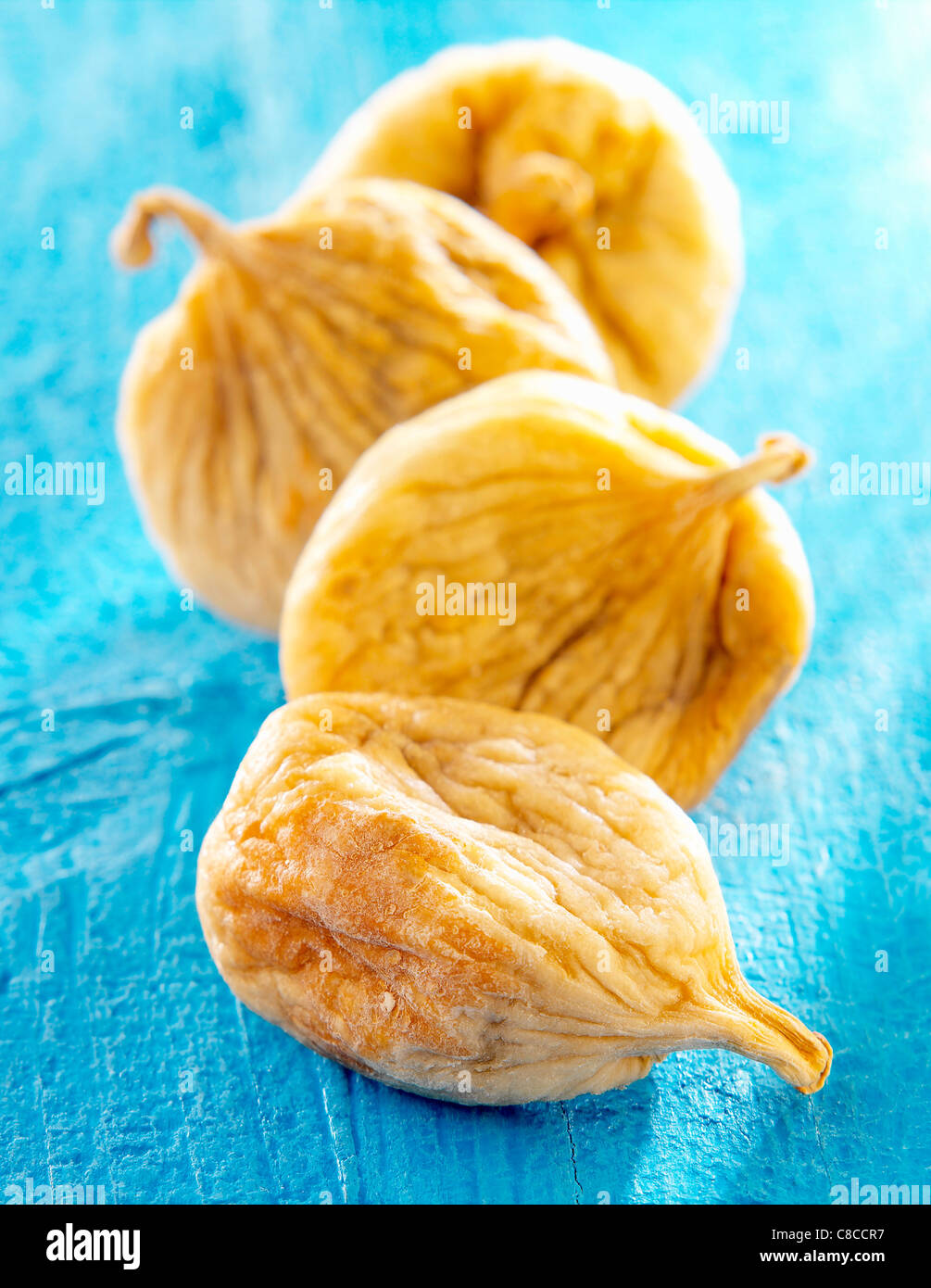 morrocco dried figs - Stock Image