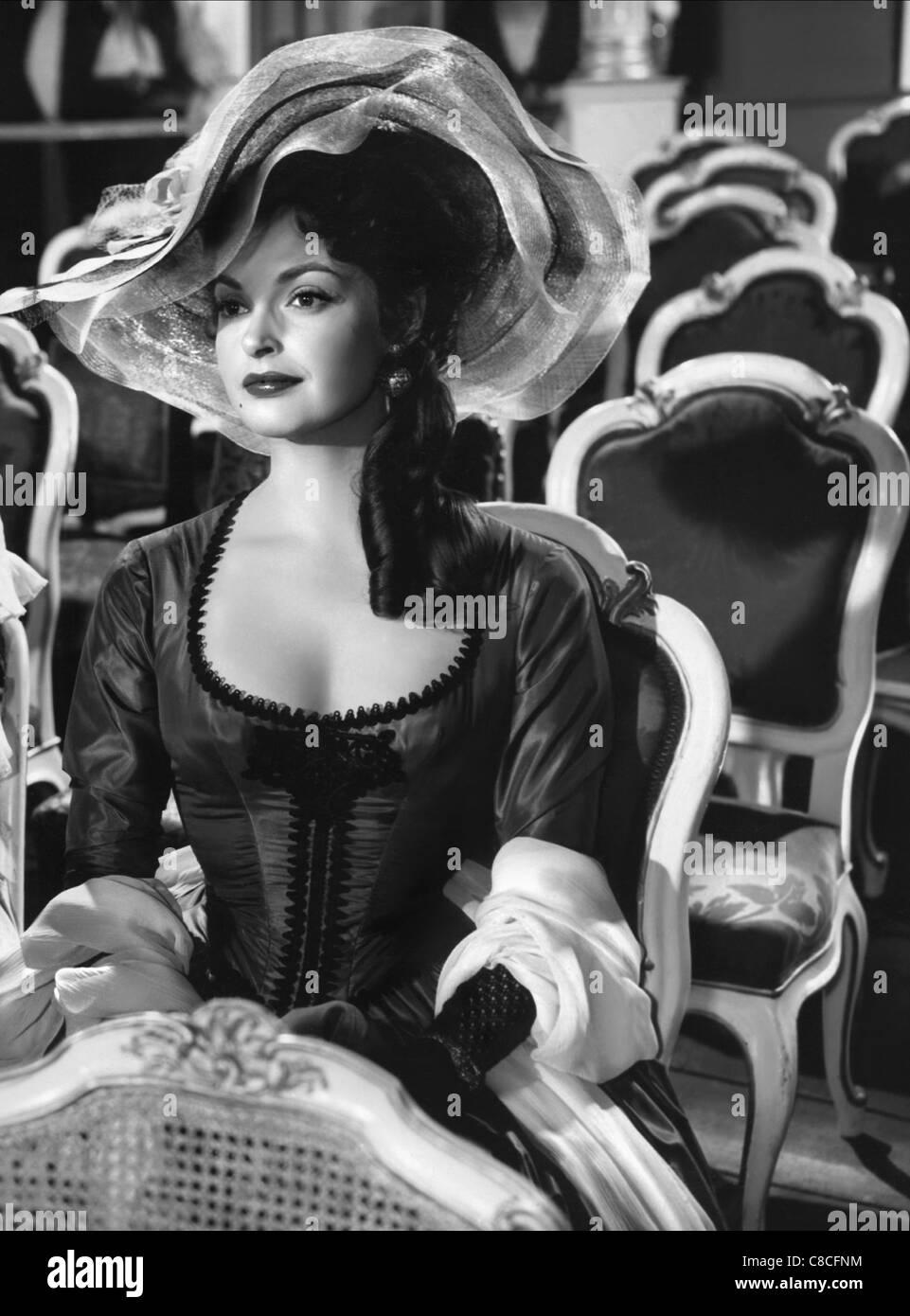 NADJA TILLER MOZART (1955) - Stock Image
