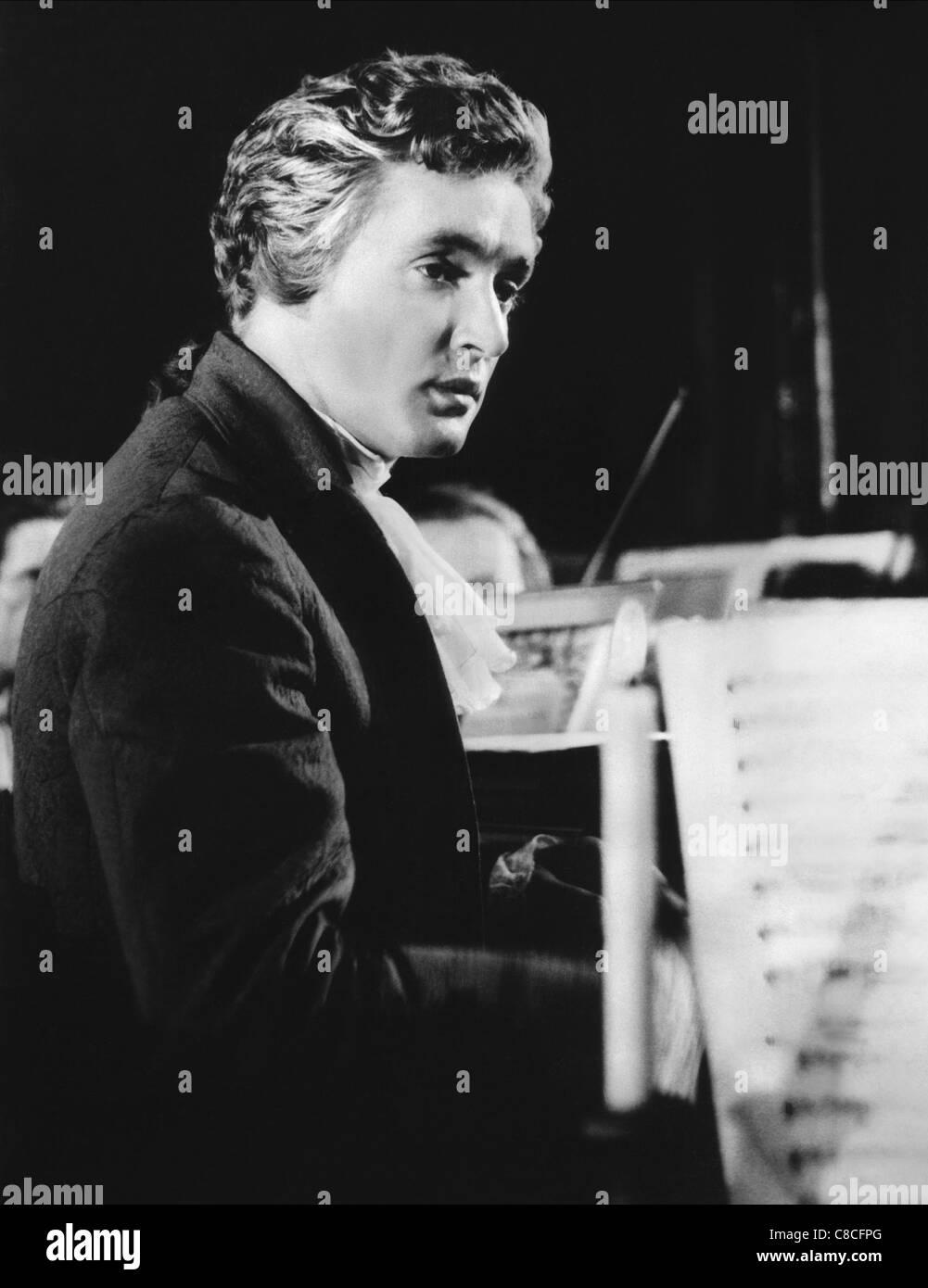 OSKAR WERNER MOZART (1955) - Stock Image