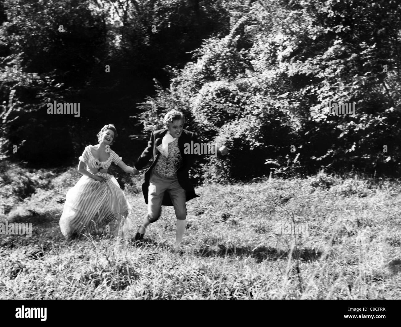 JOHANNA MATZ & OSKAR WERNER MOZART (1955) - Stock Image