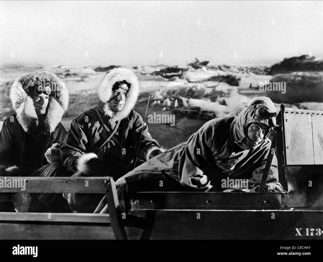 MOVIE SCENE THE BEAST FROM 20 000 FATHOMS (1953) - Stock Image